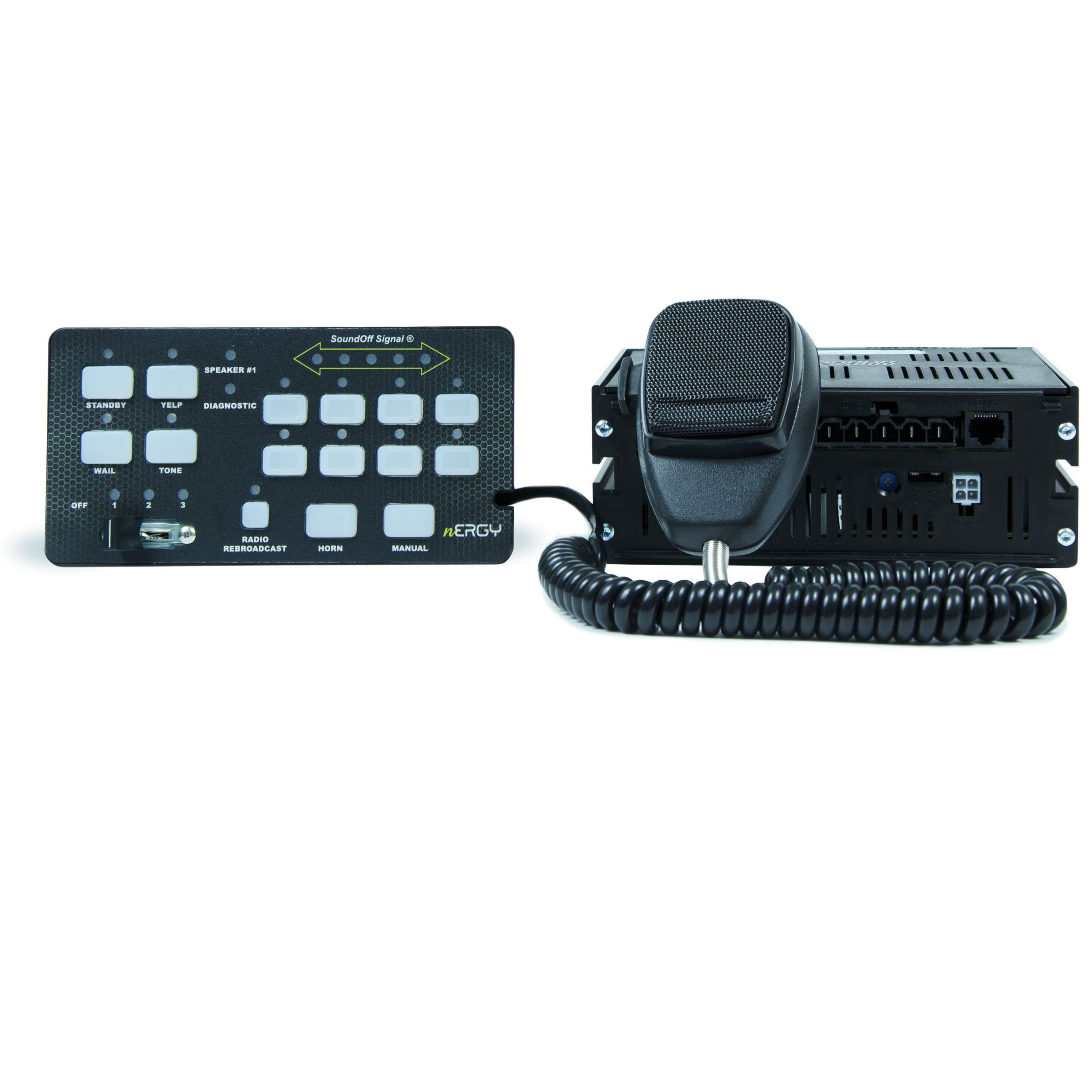 nERGY® 400 Series Remote Siren Product Image